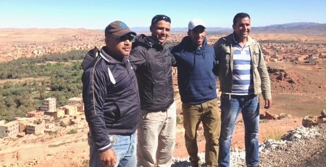 atlas trekking morocco team
