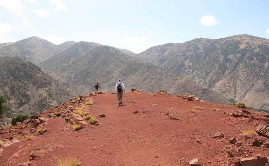 Atlas Berber villages trek experience