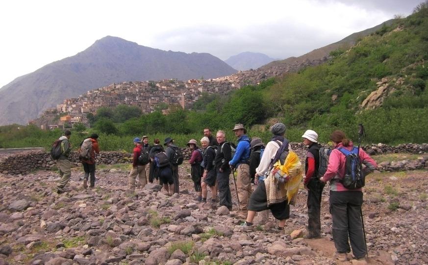 atlas valleys trek anb berber villages