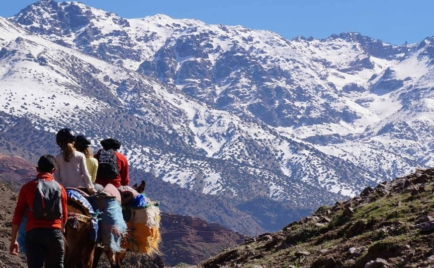 Morocco Toubkal Trek, Peak and Valleys trip
