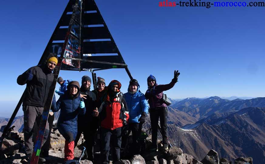 hiking-morocco-toubkal-summit-trekking