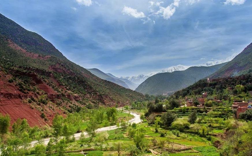 Atlas Mountains Hiking Day Tripto Ouirgane Valley
