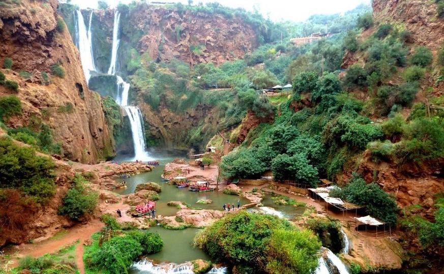 Ouzoud Waterfalls Excursion, Hiking day trip - Atlas Trekking Morocco
